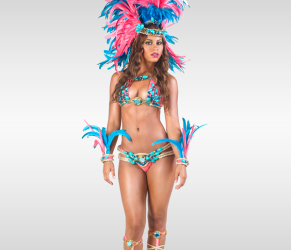 Backline-with-feathered-headpiece